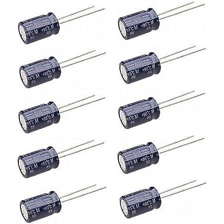Elko Elektrolyt Kondensator 100uf 25v 10 Stk Elektronik