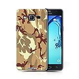 Hülle Für Samsung Galaxy On5/G550 Armee/Tarnung Braun 4
