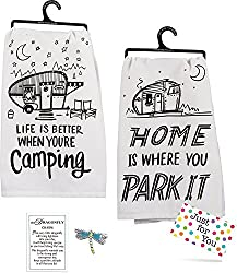 glamping kitchen towels