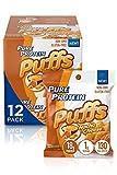 Pure Protein Puffs, Nacho Cheese, 18g Protein, Non-GMO, Gluten Free 1.05 oz, 6 Count (Pack of 2)