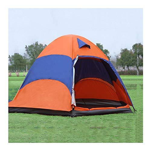 ERLIANG Tente extérieure Multi-Personnes Tente de Camping Pliante extérieure imperméable Double Couche Tente de Camping Touristique