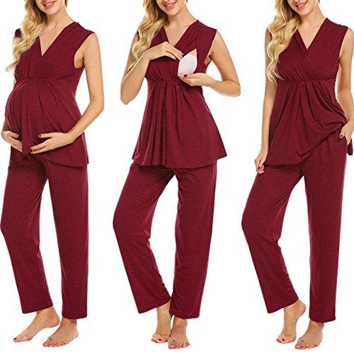 Aimado Nursing Cotton Pajamas