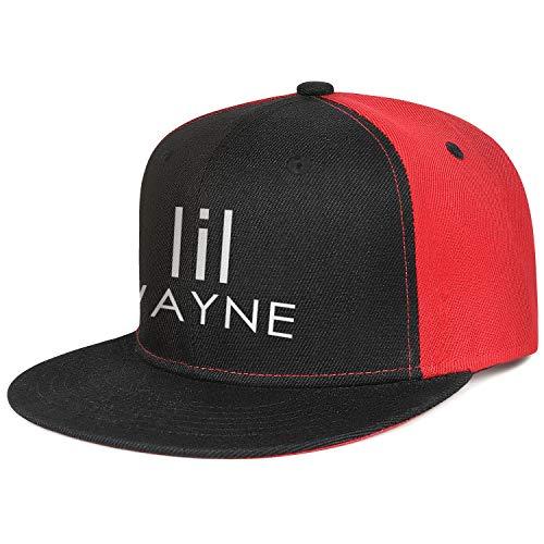Yujiakhe Black Cap Lil-Wayne-Logo- Designer Baseball Hat
