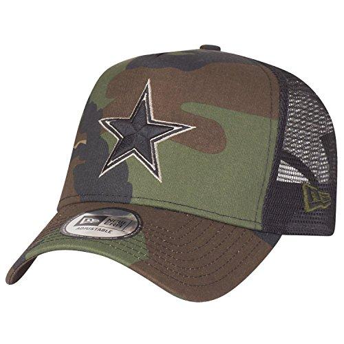 New Era Adjustable Trucker Cap - Dallas Cowboys Wood camo