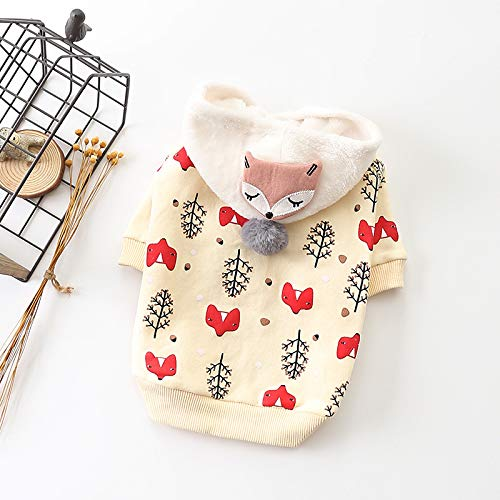 HCBDQQ Hundebekleidung Hundebekleidung Haustierkleidung Winter Gegen KäLte Teddy Bomei Hundebekleidung XXL