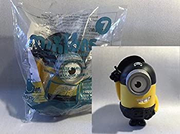 2015 McDonalds Happy Meal MINIONS MOVIE- Talking Pirate Toy #7 NEW Sealed Minion ,#G14E6GE4R-GE 4-TEW6W277474