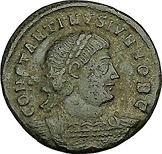 1000 IT CONSTANTINE II Constantine the Great son Ancient coin Good