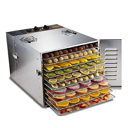 Buy Bargain Food Dehydrator Machine, Large Capacity 10 Layer Food Dryer 1000W Power Stainless Steel ...