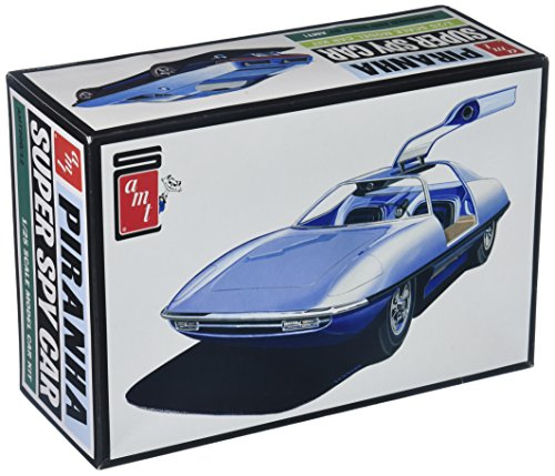 AMT Piranha CRV Super Spy Car, 1:25 Scale Model Car Kit, AMT900