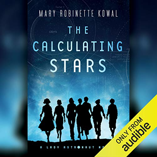 The Calculating Stars     A Lady Astronaut Novel              By:                                                                                                                                 Mary Robinette Kowal                               Narrated by:                                                                                                                                 Mary Robinette Kowal                      Length: 11 hrs and 41 mins     37 ratings     Overall 4.1