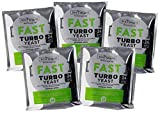 5x Still Spirits Fast Turbo Yeast 250g 24 hour