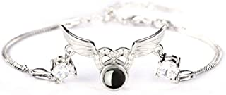 Y.Verve 925 Sterling Silver I Love You Bracelet 100 Languages Love Heart Projection Bracelet Birthday Gifts for Women