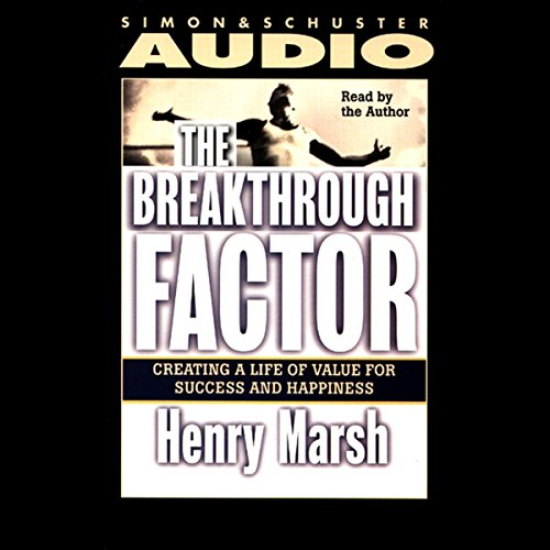 The Breakthrough Factor audiobook cover art