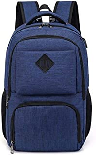 Anti-Theft Laptop Packback, Hamkaw Business Laptop Backpack with Adjustable Straps, Breathable, Large Capacity, Water Resistant Computer Bag for School Travel