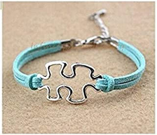 Bracelet, Puzzle Piece, Autism Awareness, Jigsaw Puzzle, Puzzle, Gift for Her, Best Friends Forever, Sisters Gift, Friendship, Bridesmaid