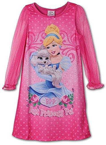 Disney Little Girls Cinderella Palace Pets Gown Long Sleeve K157452PN 2T