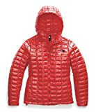 The North Face Women's Thermoball Eco Hooded Jacket, Fiery Red, Medium