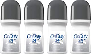 Avon On Duty 24 Hours Original Roll-on Anti-perspirant Deodorant 2.6 oz (4-Pack)