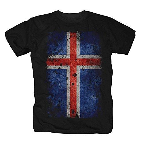 Islanda Vichinghi Alaska Norvegia Viking Scozia Camicia Maglietta Shirt T-Shirt Polo S
