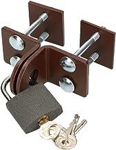 KOTARBAU® Overval 40 mm keldersluiting veiligheidsoverval met hangslot slot slot deur beslag deurhangslot vastschroeven