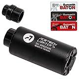 [ ACETECH ] UV発光トレーサー 1年間保証 [ Gunsmith BATON ステッカー・日本語説明書付属 ] (Lighter S ウルトラコンパクト トレーサー 14mm)