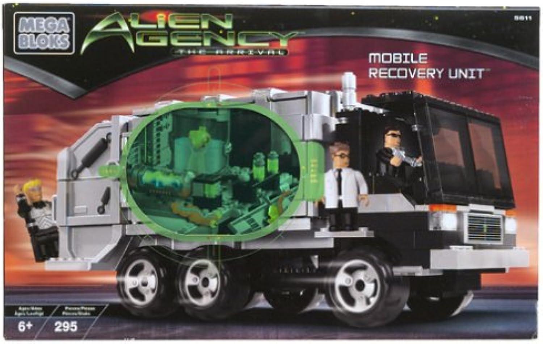 Alien Agentur Mobile Recovery Einheit 5611 Mega Bloks B00006JZSM  Neuer Eintrag   | Kompletter Spezifikationsbereich