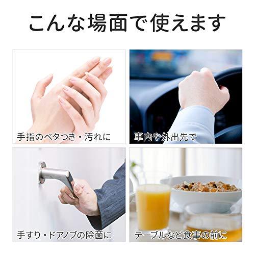 プラスライフ除菌ウェットティッシュ除菌シートアルコール10枚入り×10個パック携帯用ウェットシート蓋つき無香料エタノール