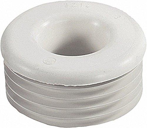 Gummi-Spülrohrverbinder hell für Euro-WC D=28-32mm Anschluss=55-58mm- ohne Rosette