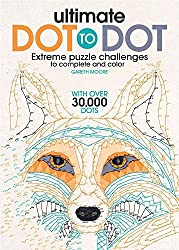 Image: Ultimate Dot to Dot: Extreme Puzzle Challenge | Paperback: 64 pages | by Gareth Moore (Author). Publisher: B.E.S.; Act Clr Cs edition (February 1, 2016)
