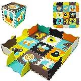 Yostrong 1.3M² Suelo Bebe Alfombra Puzzle Puzles para Bébé Alfombras Puzzle...