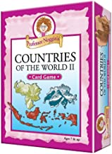 Professor Noggin's Countries of the World II - A Educational Trivia Based Card Game For Kids