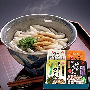 伊勢うどん 味くらべセット 4種・8食入り ミエマン醤油 西村商店