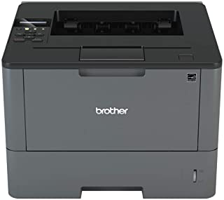 Brother Monochrome Laser Printer, HL-L5100DN, Duplex Two-Sided Printing, Ethernet Network Interface, Mobile Printing, Amazon Dash Replenishment Ready