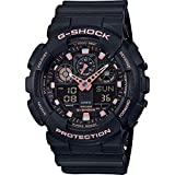 Casio G-SHOCK Reloj Analógico-Digital, 20 BAR, Negro, para Hombre, GA-100GBX-1A4ER