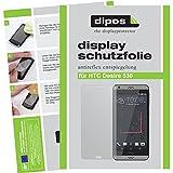 dipos I 2X Schutzfolie matt kompatibel mit HTC Desire 530 Folie Bildschirmschutzfolie