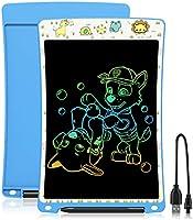WOBEECO Tableta de Escritura LCD 10 Pulgadas Recargable| Tablet para niños | Ideal como Pizarra Digital para Aprender a...