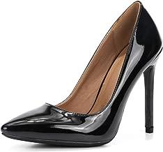 Women's Classic Slip On Pointed Toe Stiletto High Heel Wedding Dress Pumps Shoes