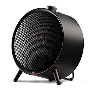 Honeywell HCE200BE4 Calefactor cerámico redondo 1500W, color negro, 900 W