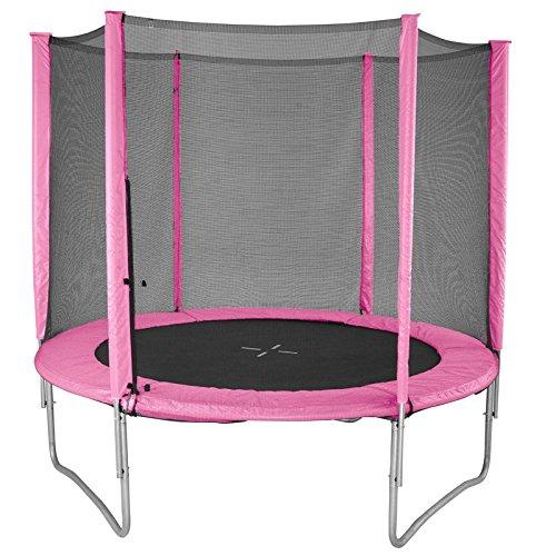 evostar ii 6ft trampoline and enclosure (pink)