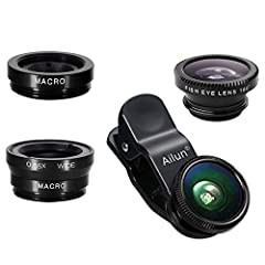 High Quality: Professional HD Lens with advanced lanthanide optical glass give you clear shots every time,reducing glare and reflection. Top-grade aluminum construction increases the durability of the product and let the lens kit be your partner of p...
