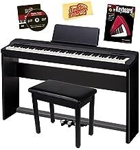 Casio Privia PX-160 Digital Piano – Black Bundle with CS-67 Stand, SP-33 Pedal,..