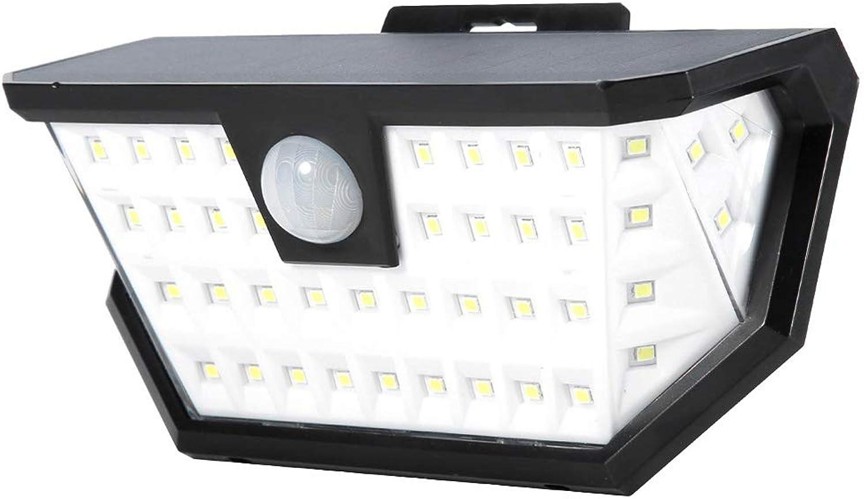 ZYJ LED Wall Lamp Solar Powerot Lights Waterproof Wireless Wall Lights for Garden, Garage, Walkway, Yard