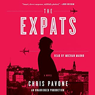 The Expats audiobook cover art