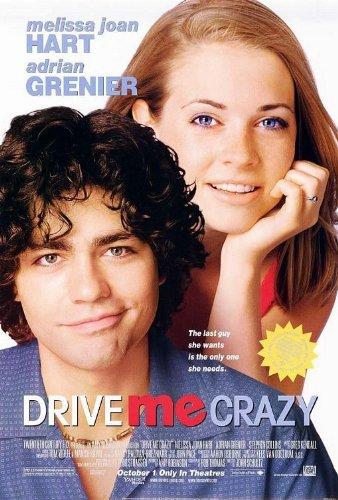 DRIVE ME CRAZY Original Movie Poster 27x40 - Dbl-Sided - Melissa Joan Hart - Stephen Collins - Adrian Grenier - Susan May Pratt