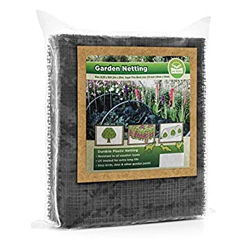 Bird Netting [Heavy Duty] Protect Plants and Fruit Trees - Extra Strong Garden Net Is Easy to Use Doesn t Tangle and Reusable - Lasting Protection Against Birds Deer and Other Pests  7.5ft x 65ft