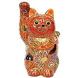 開運 置物 九谷焼 招き猫 盛 陶器 商売繁盛 アイテム 風水 グッズ