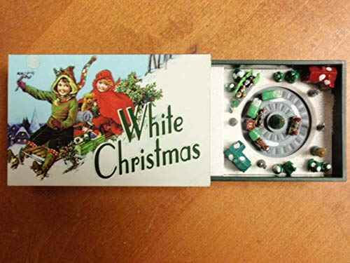 Mr. Christmas Gold Label Matchbox Melodies White Christmas Music Box