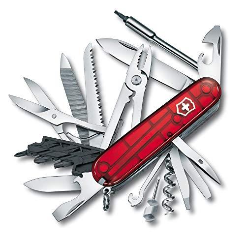 Victorinox Cyber Tool L Zakmes, 39 functies, metalen vijl, bit-sleutels, balpen, tang, rood
