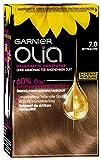 Garnier Olia Haar Coloration Mittelblond 7.0 / Färbung für Haare enthält 60% Blumen-Öle für...