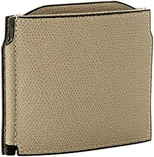 Valextra(ヴァレクストラ) 財布 メンズ グレインレザー マネークリップ グレーベージュ V0L54-028-00TORD[並行輸入品]